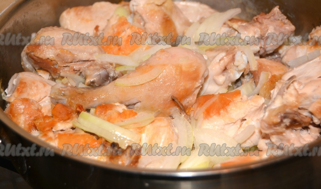 гуляш из курицы рецепт с фото