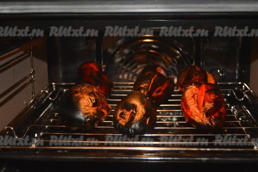 как запекать перец в духовке целиком