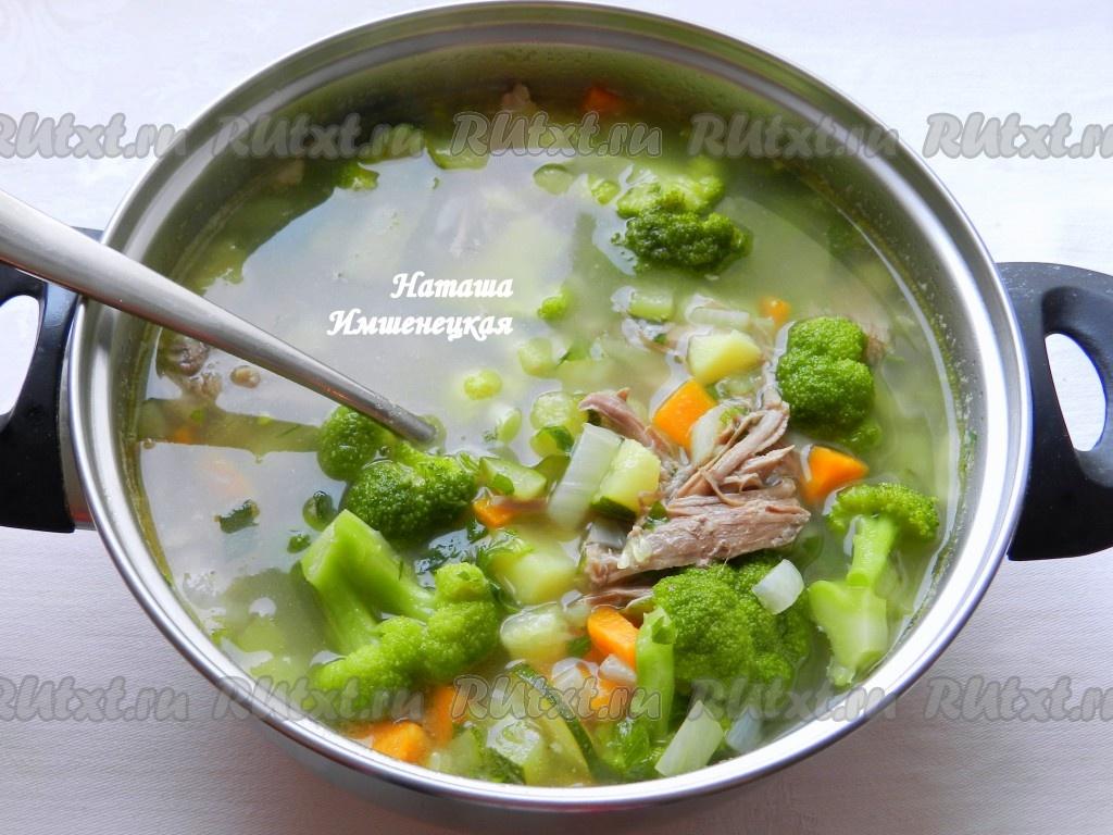 рецепт приготовления вкусного супа с брокколи