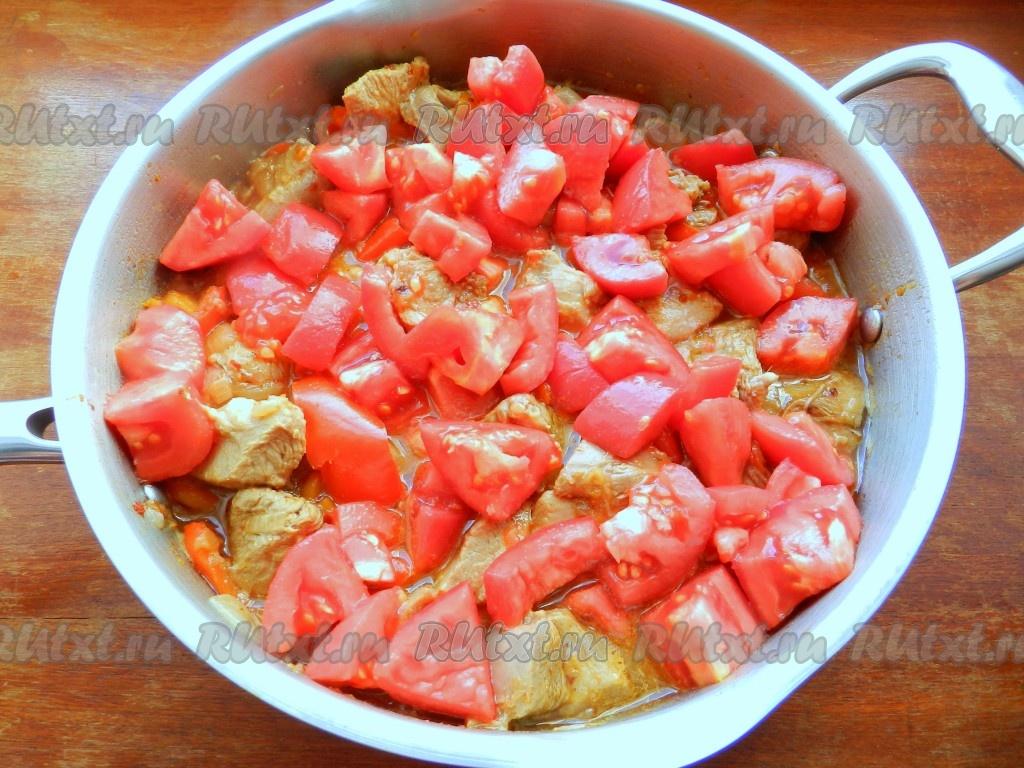 Рагу из мяса с фасольюы
