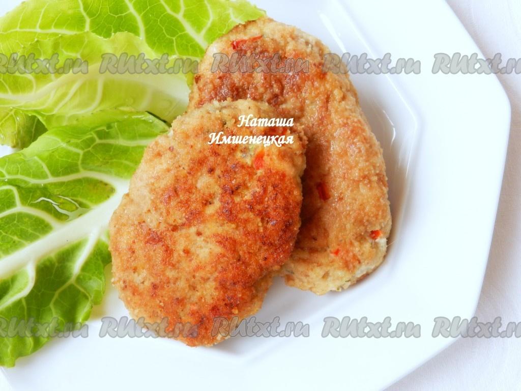 Котлеты из куриного фарша диетические с фото
