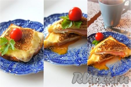 Бутерброды на сковороде рецепты фото