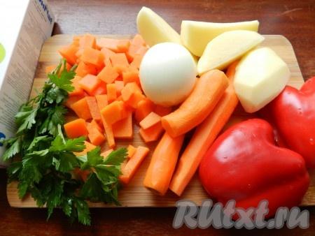рецепт приготовления супа из овощей