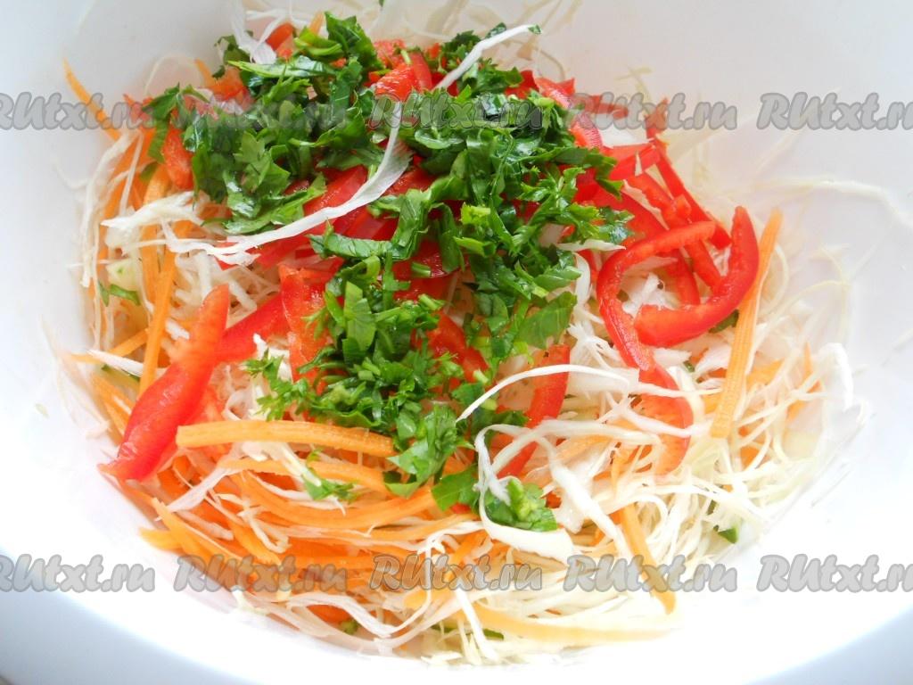 Салат из болгарского перца без уксуса на зиму