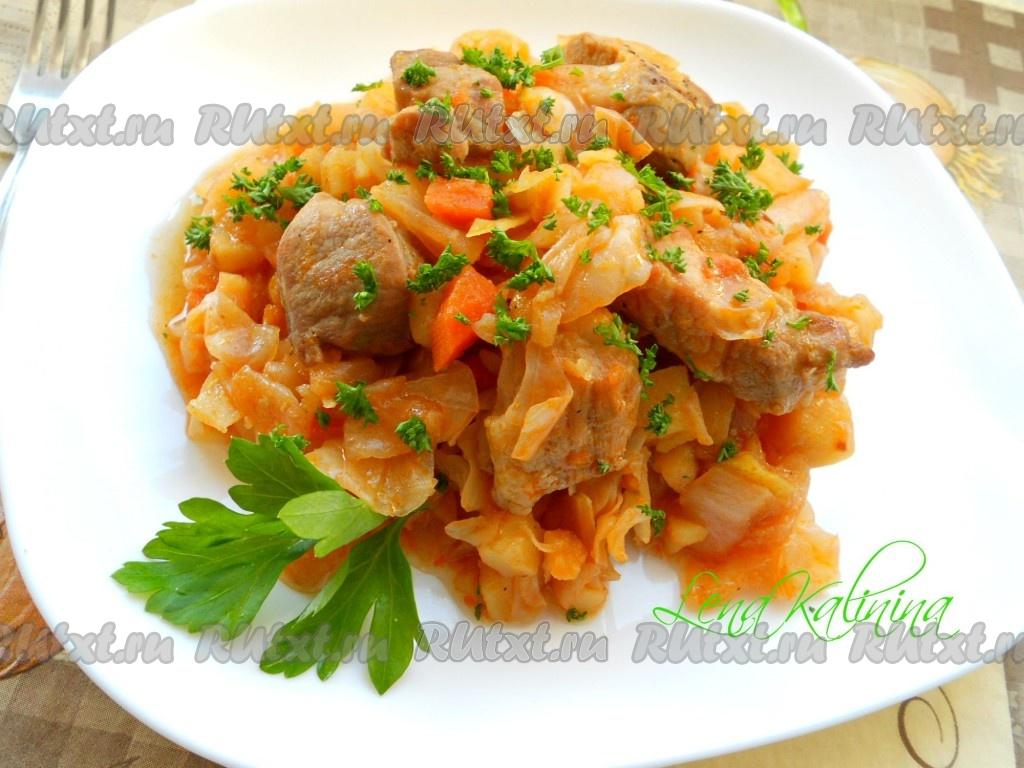 Рецепты рагу свинины 114