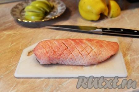 грудки утиные в духовке рецепт с фото пошагово в