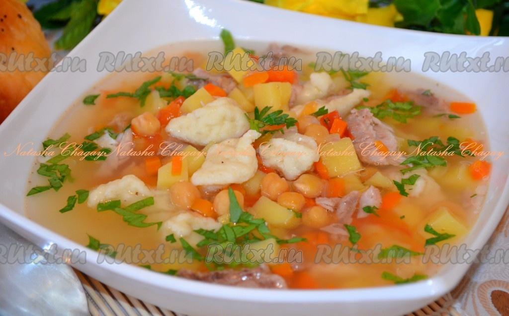 рецепты для мультиварки суп из нута
