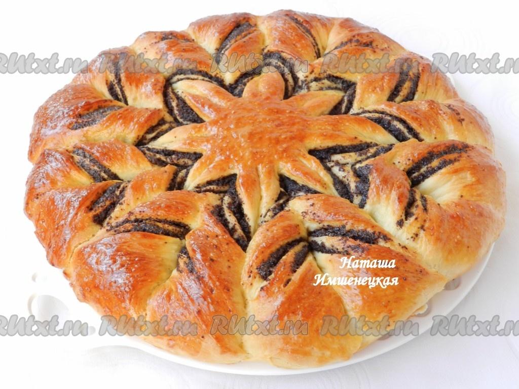 сладкий пирог с маком рецепт с фото