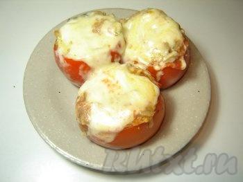 Фаршированные помидоры из духовке
