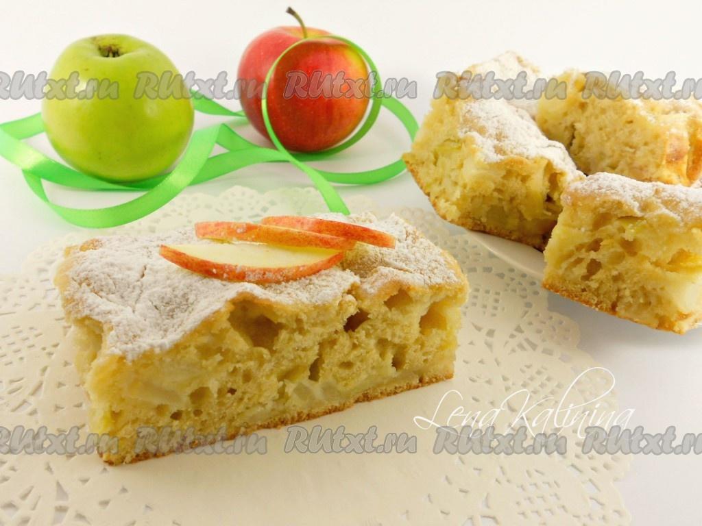 Рецепт пирога или торта с яблоками
