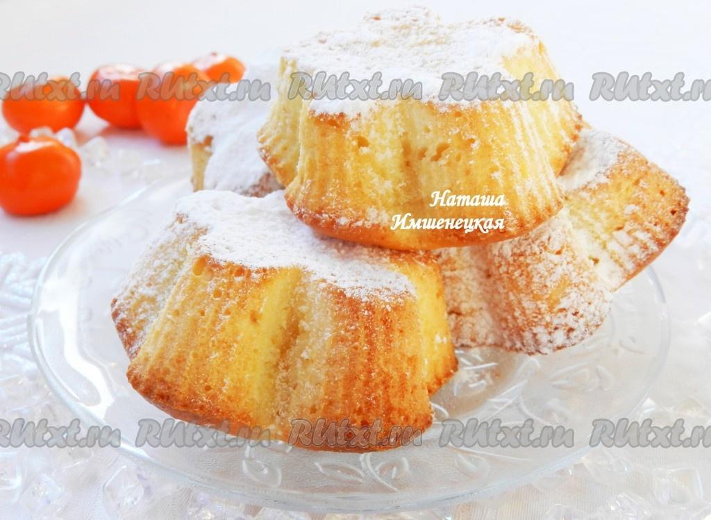 Творожный кекс в формочках