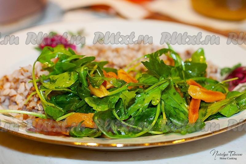 Вкусный салат кто на диете