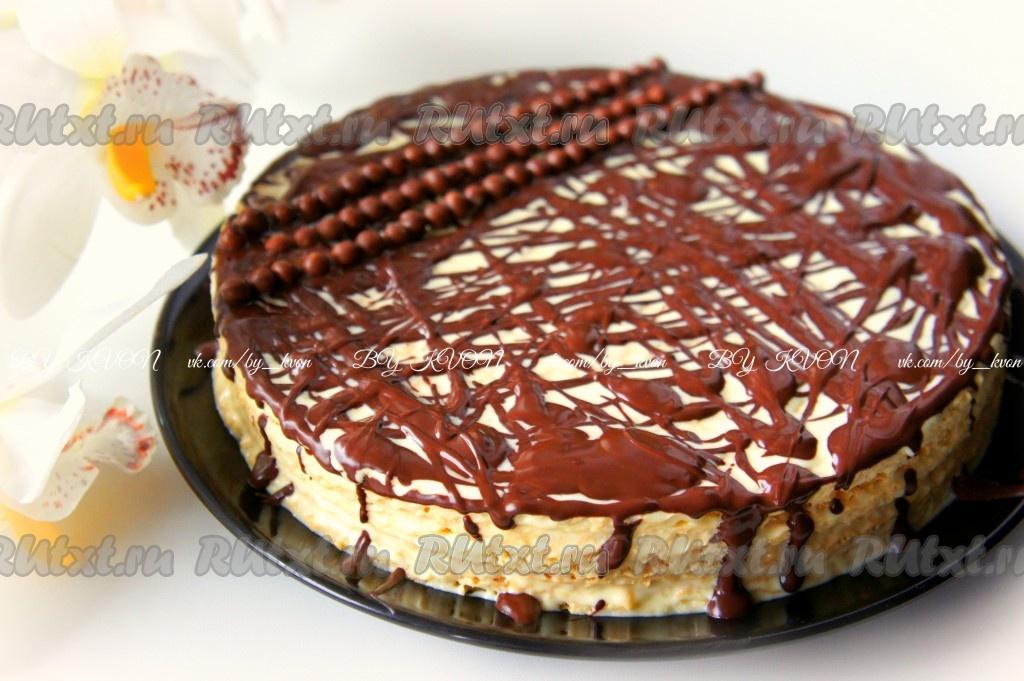торт из каржей рецепт с фото