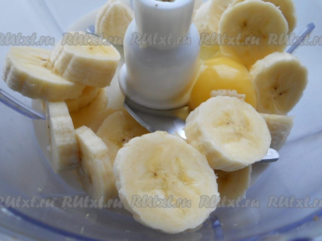 Банановые оладьи с молоком рецепт