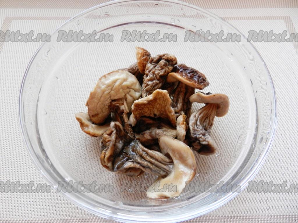 рецепт супа пюре из белых грибов рецепт с фото #11
