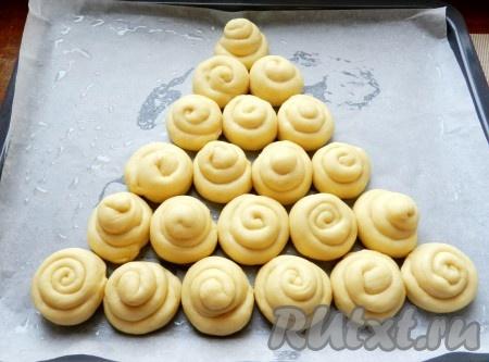 Ванильные булочки с нежной глазурью - рецепт пошаговый с фото
