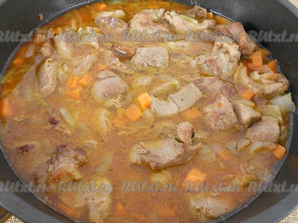 подливка свиная рецепт в духовке