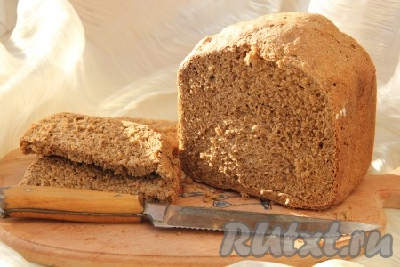 рецепт приготовления ржаного хлеба в хлебопечке редмонд