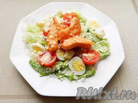 салат мимоза со слабосоленой семгой рецепты