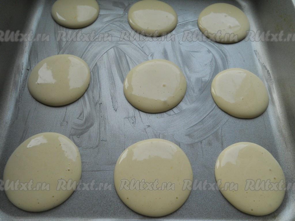Как приготовить каллы печенье