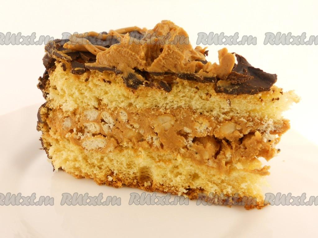 Начинка для торта сникерс рецепт с фото