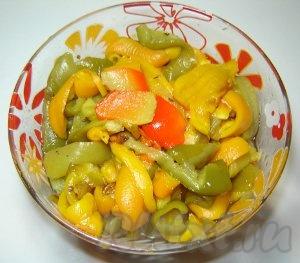 вкусный салат из перца рецепт с фото