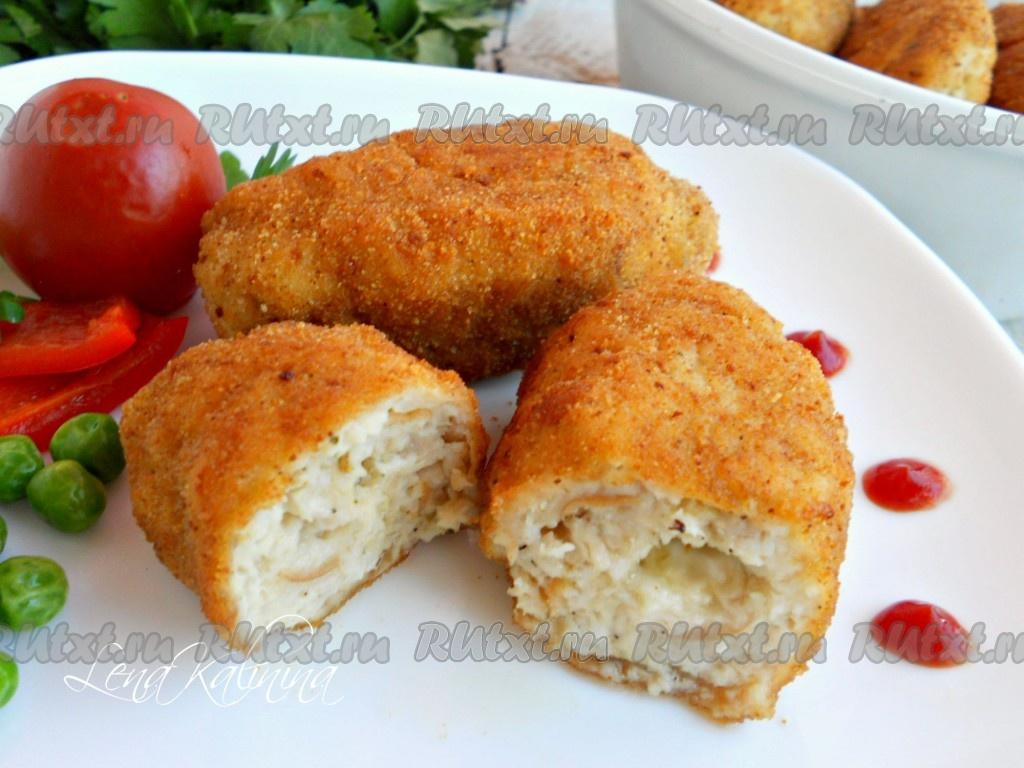 котлеты по киевски рецепт из фарша свинины с сыром