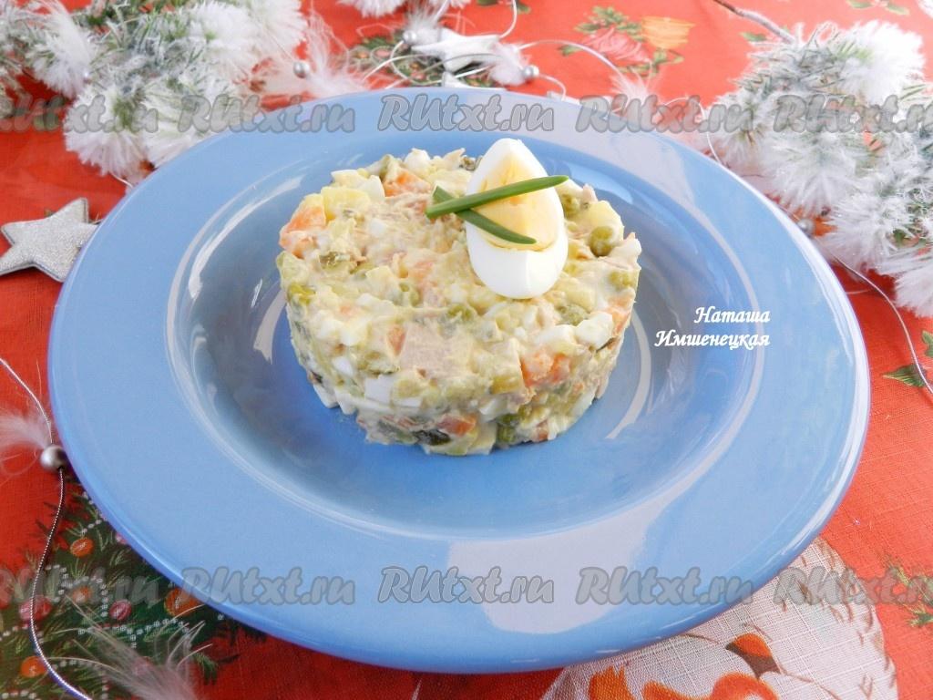 салат рецепты с картофелем