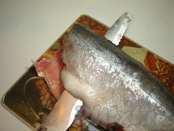 Засолка красной рыбы в домашних 73