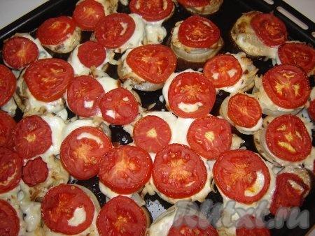 Булочки с баклажанами и помидорами - рецепт пошаговый с фото