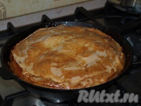 Пирог готов!