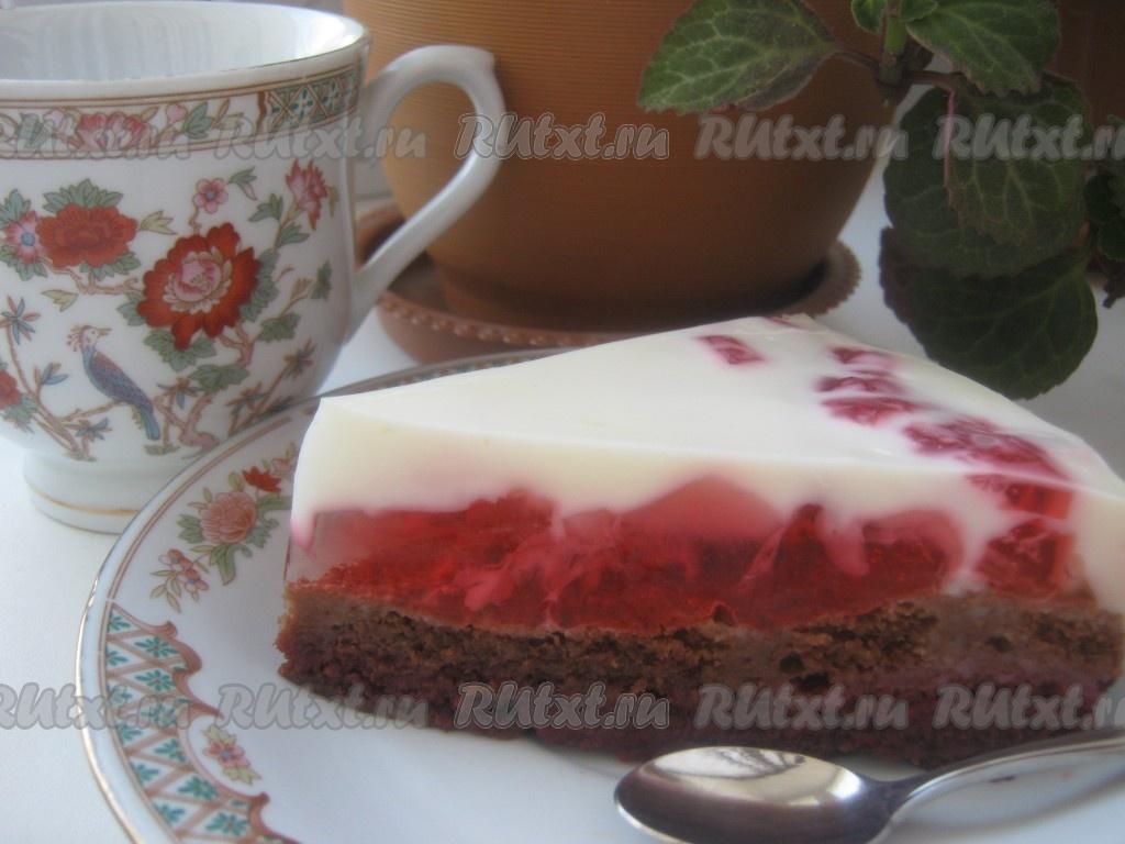 Рецепт торта зимняя вишня в домашних условиях 376