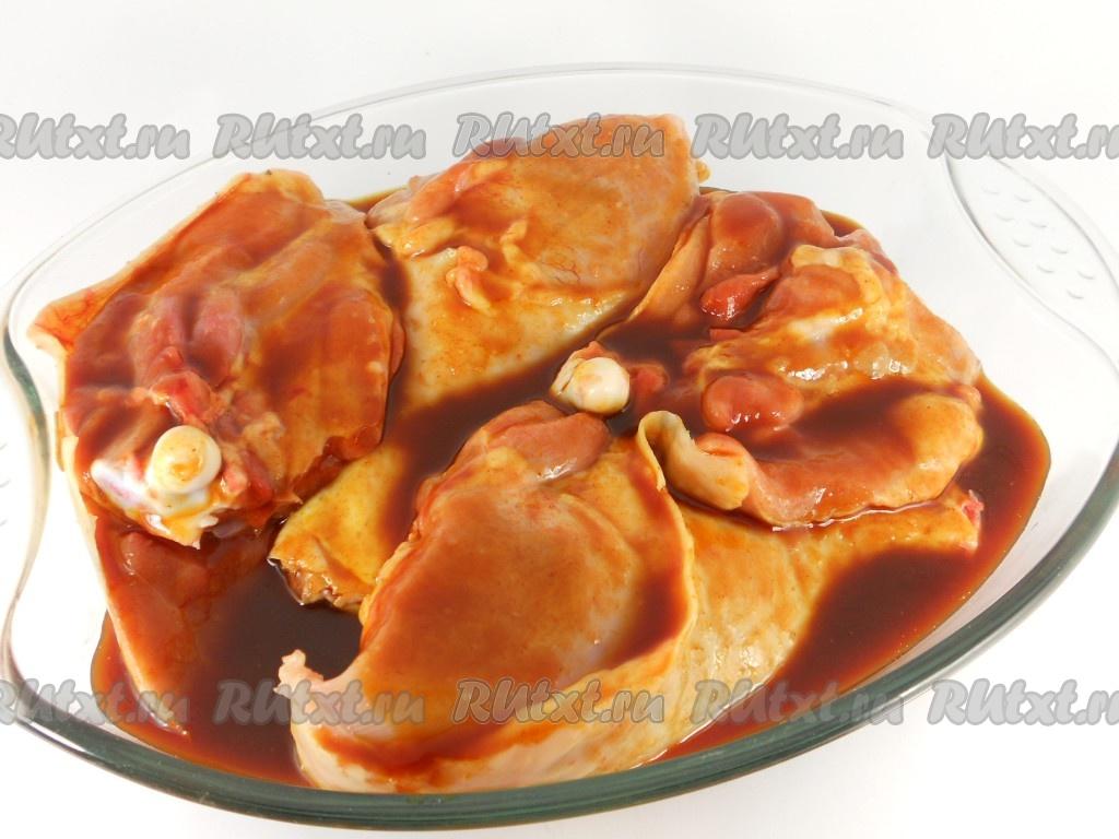 окорочка в духовке рецепты с соевым соусом