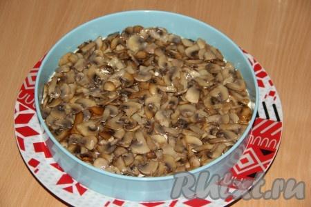 рецепт салата с гранатом и грецким орехом и