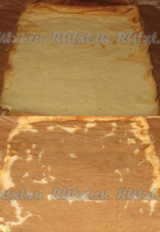 Как завернуть бисквит на торт