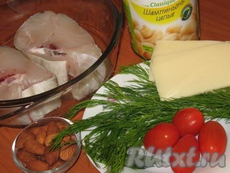 Ингредиенты для приготовления праздничной рыбы