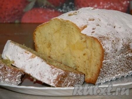 Кекс с ананасом рецепт фото
