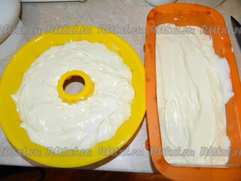 кекс лимонно-иогуртовый.
