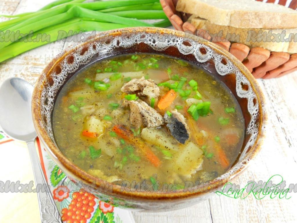 Рецепт супа из говядины и консервированной фасоли