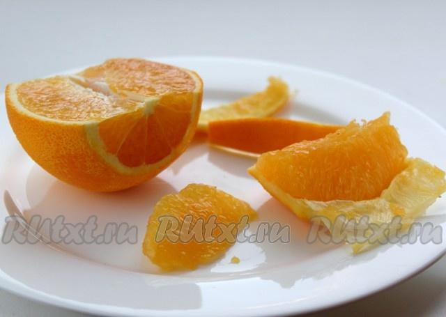 Апельсиновый джем с желфиксом 10