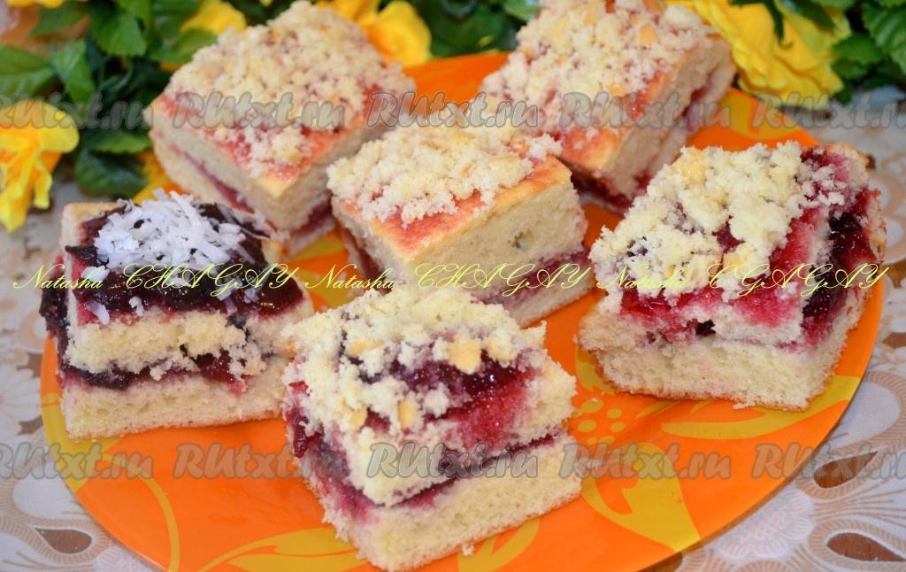 пирожное вареньем рецепт фото