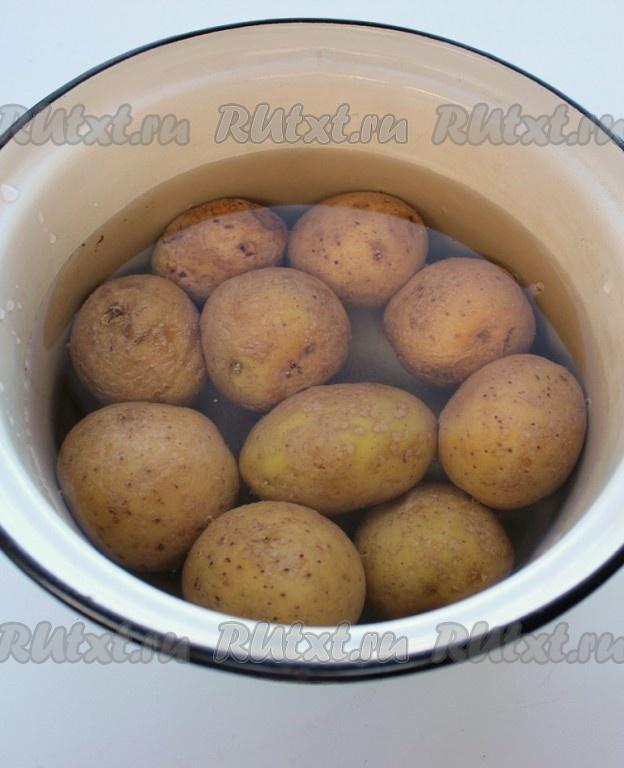 Простые из картофеля в микроволновкеы с фото