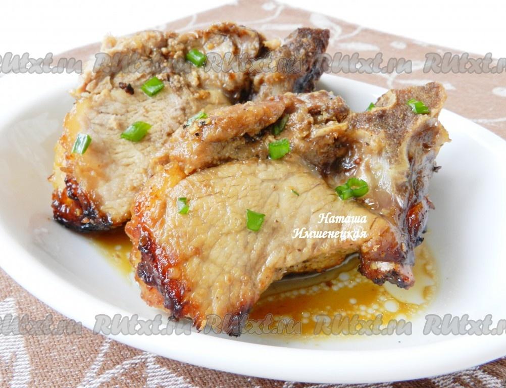 Свинина в духовке пошаговые рецепты с