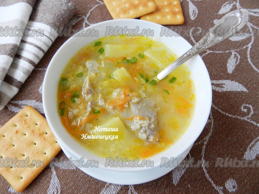 суп пшенный для инсультников рецепт
