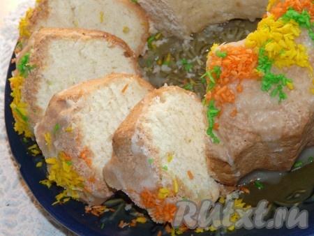 Воздушный кекс на сметане рецепт