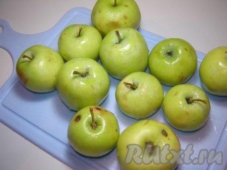 Зеленые яблоки для запекания