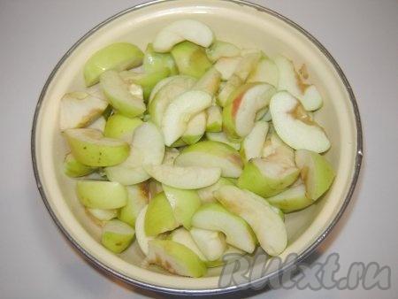 Яблоки подготовили