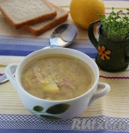 рецепт суп с говядиной и чечевицей рецепт с фото