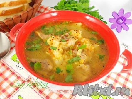 супы рецепты гороховый суп со свининой