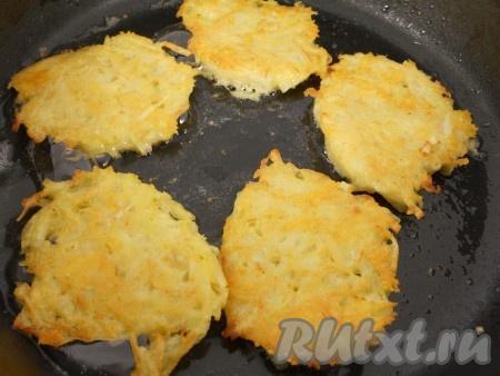 Вкусные драники из картошки с сыром